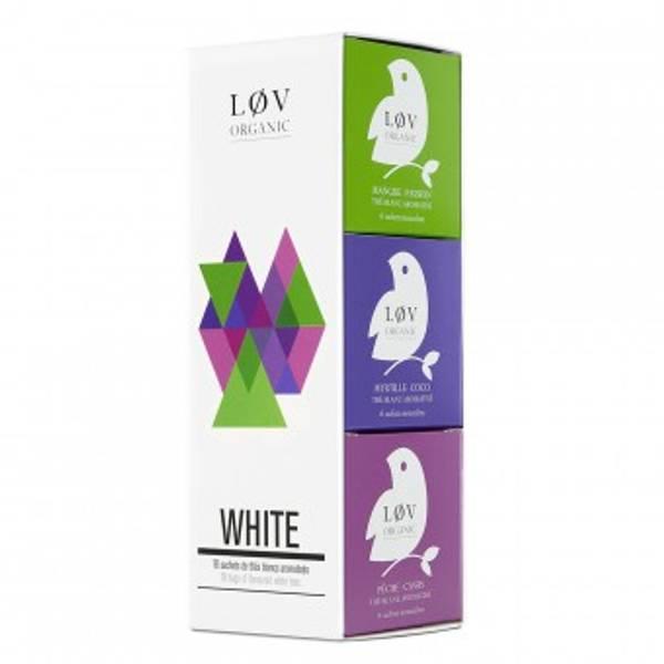 LØV organic, white tea gavesett