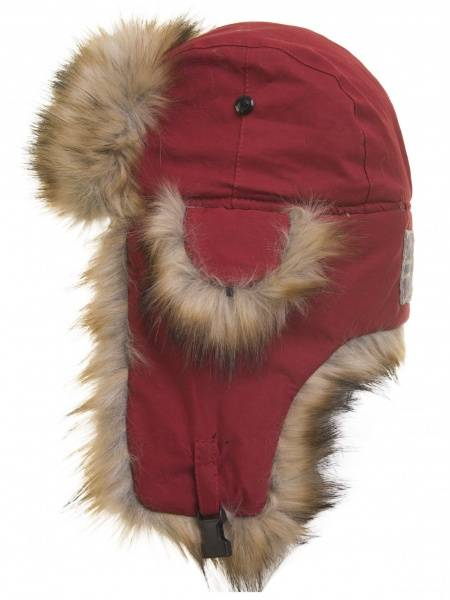 Barfota, North pole hat red