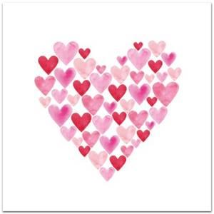 Bilde av nobhilldesigners, hjertekort